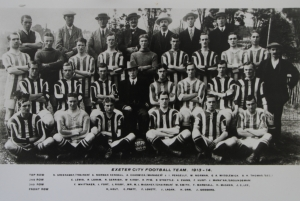 Exeter City team 1913-14